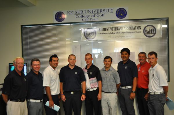 Florida Regional 2 Golf Team