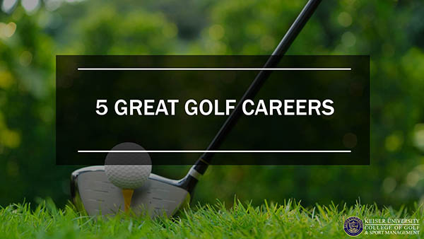 5 Great Golf Careers
