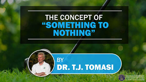 The Concept of Something to Nothing