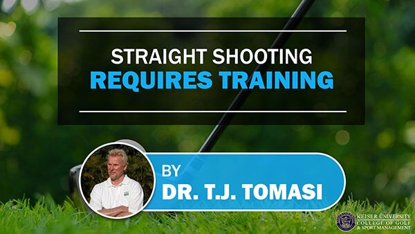 Straight Shooting Requires Training