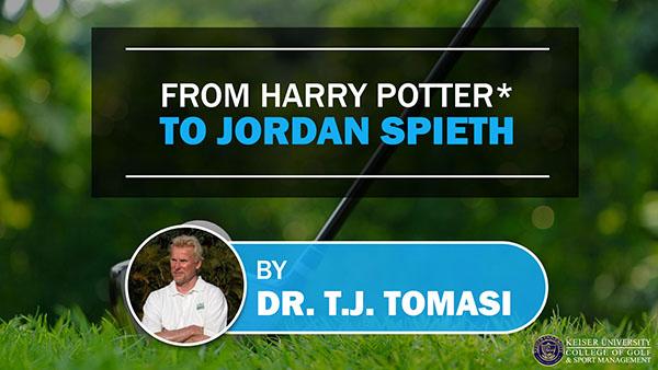 From Harry Potter to Jordan Spieth
