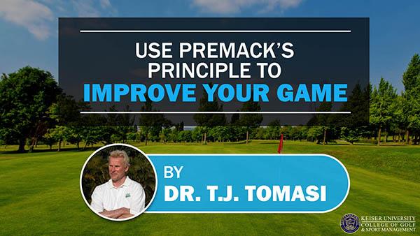 Use Premacks Principle to Improve Your Game